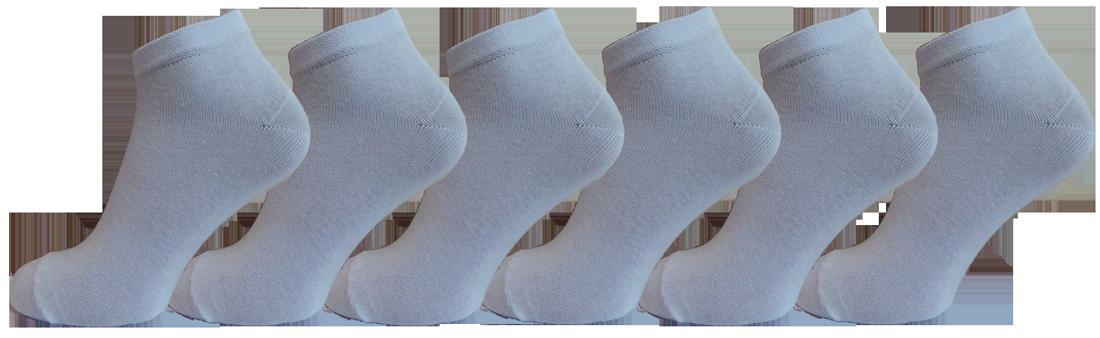 """Чоловічі шкарпетки снікерс білі """"lomani"""""""