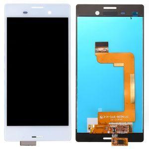Диcплей c тачcкрином Sony E2312 Xperia M4 Aqua Dual Sim, E2333, E2363 белый в рамке (HQ)