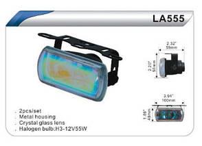 Фары дополнительные DLAA 555 W/H3-12V-55W/100*48mm компл.(7950), фото 2