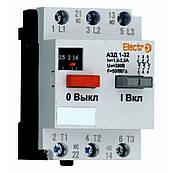 Автоматический выключатель защиты двигателя АЗД 1-32 3 полюса 4А 380В с доп. контактом