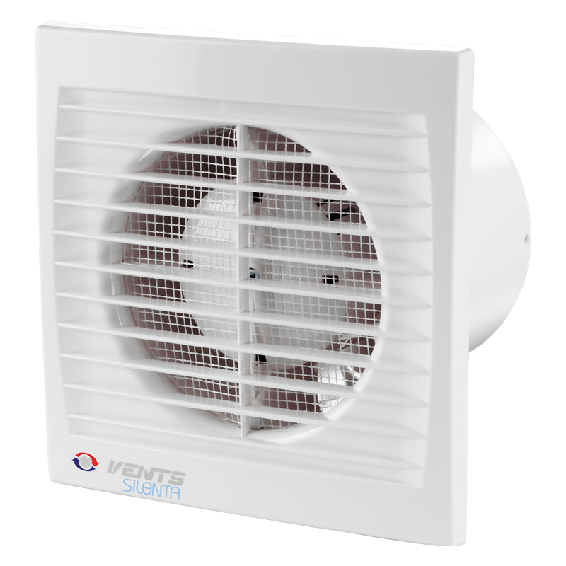 Вентилятор осевой Вентс 150 Силента-С ТРКЛ, таймер, д-к движения, клапан, подшипник,20Вт,240м3/ч, 220В, 5лет