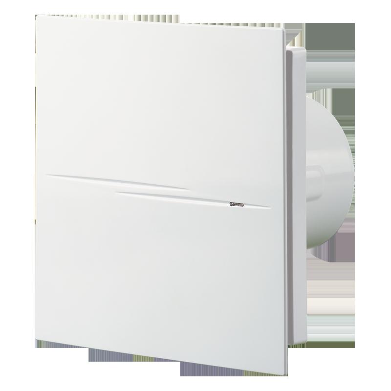 Вентилятор осевой Вентс Квайт-Стайл 100 В, микровыключатель, вытяжной, 7,5Вт, 90м3/ч, 220В, гарантия 5лет