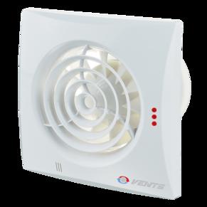 Вентилятор осевой Вентс Квайт 100DC ТР, таймер, датчик движения, вытяжной, 3,6Вт, 100м3/ч, 220В, гарантия 5лет