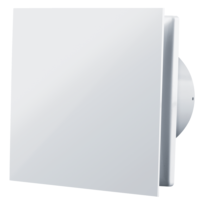 Вентилятор осевой Вентс 100 Солид Л, подшипник, клапан, вытяжной, 7,5Вт, 85м3/ч, 220В, гарантия 5лет