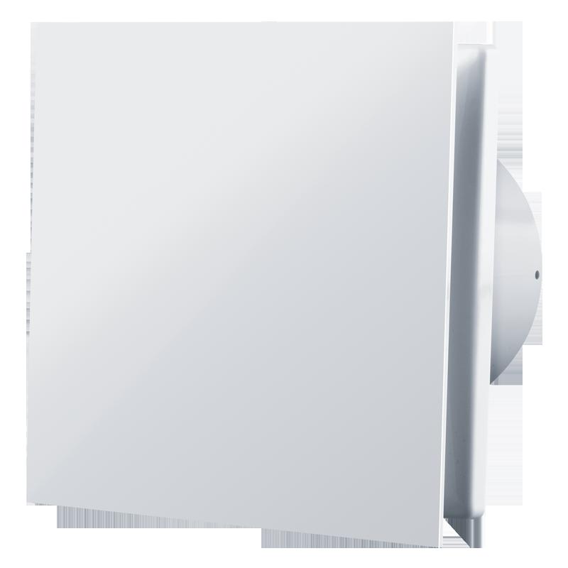Вентилятор осевой Вентс 100 Солид ТН, таймер, датчик влажности, клапан, 7,5Вт, 85м3/ч, 220В, гарантия 5лет