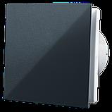 Вентилятор осевой Вентс 100 Солид ВТ, микровыключатель, таймер, клапан, 7,5Вт, 85м3/ч, 220В, гарантия 5лет, фото 3