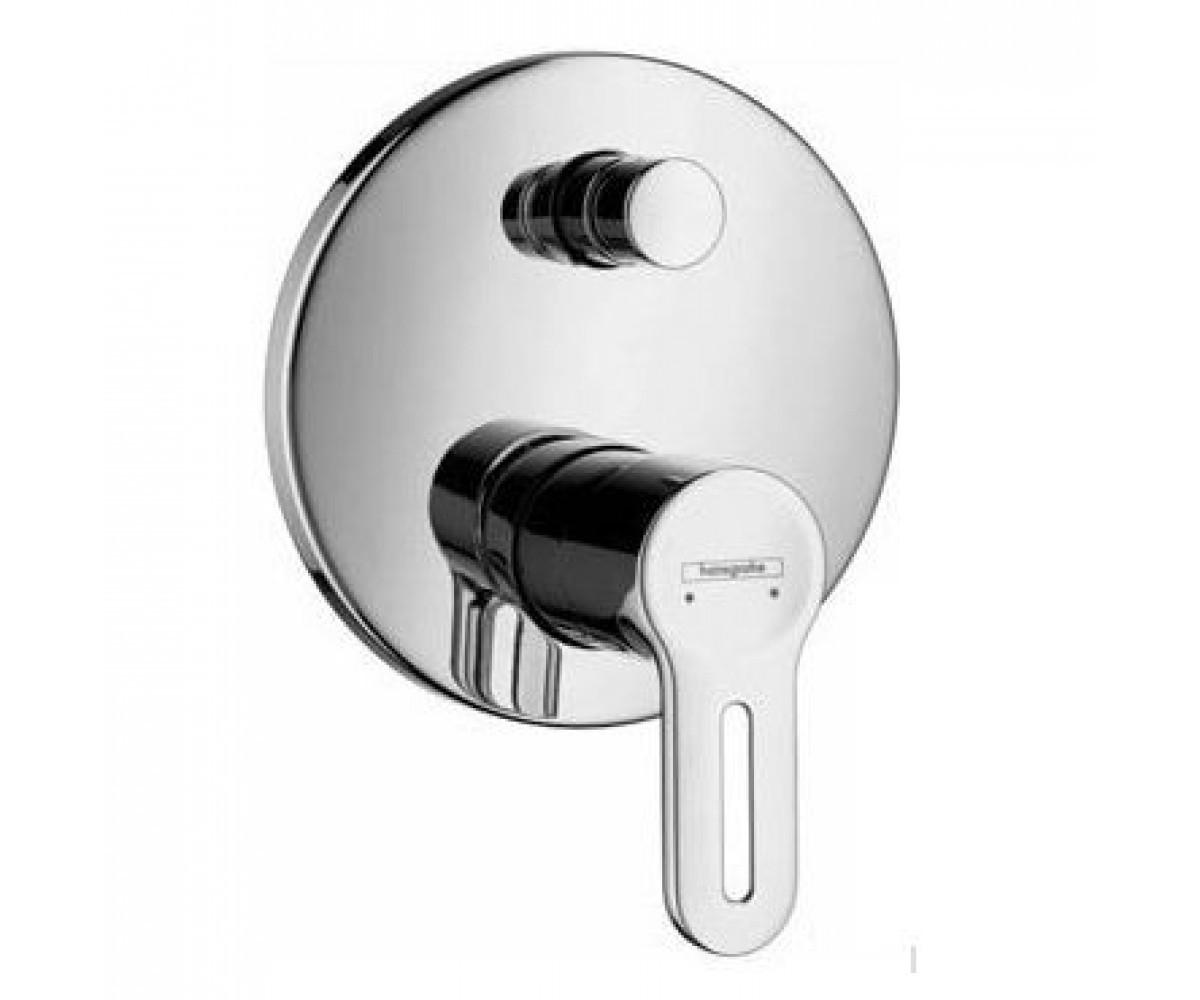 Hansgrohe Metropol S - змішувач на ванну врізний (матовий хром ) HANSGROHE 14465880