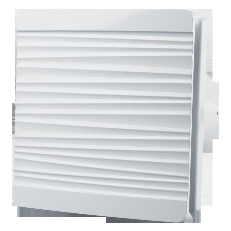 Вентилятор осевой Вентс 100 Флип ВТН, выключатель, таймер, датчик влажности, клапан, 7,5Вт, 85м3/ч, 220В, 5лет