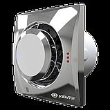 Вентилятор осевой Вентс Квайт-Диск 100 Т, таймер, вытяжной, 7,5Вт, объем 97м3/ч, 220В, гарантия 5лет, фото 4