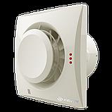 Вентилятор осевой Вентс Квайт-Диск 100 Т, таймер, вытяжной, 7,5Вт, объем 97м3/ч, 220В, гарантия 5лет, фото 6