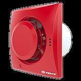 Вентилятор осевой Вентс Квайт-Диск 100 ВТ, микровыключатель, таймер, 7,5Вт, 97м3/ч, 220В, гарантия 5лет, фото 2