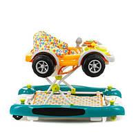 Ходунки машинка Mioobaby Baby Walkers XA100 orange/green
