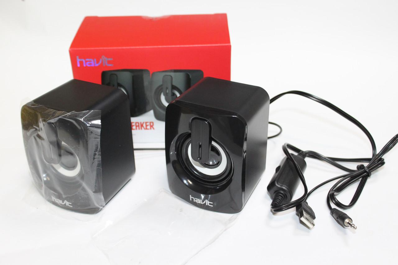 Колонки 2.0 Havit HV-SK 589 USB Black