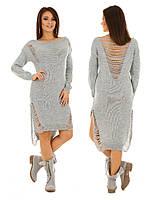 Плаття Styllo F110 One-Size Сірий F110-3 b659de8cbdf5f