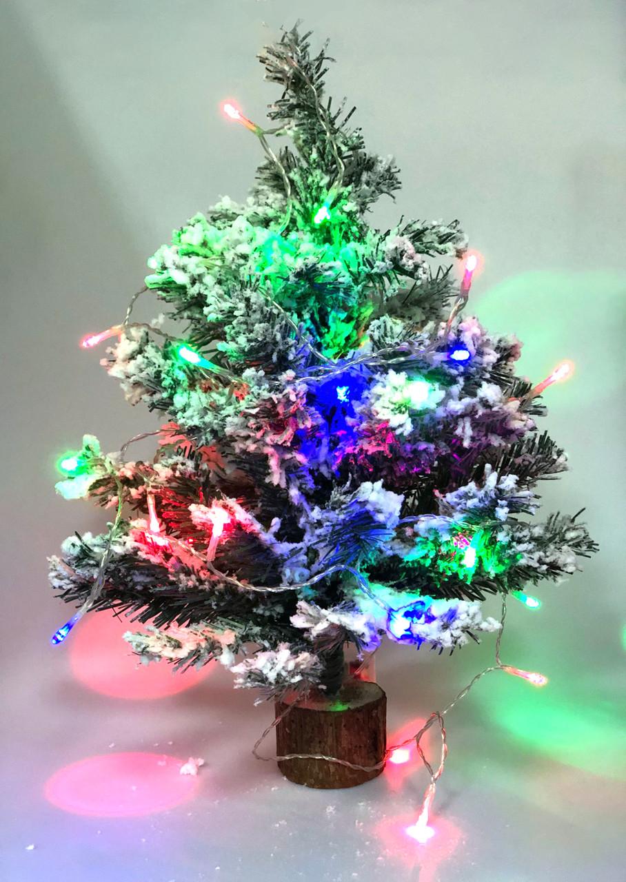 Новогодняя елочка Заснеженная красавица