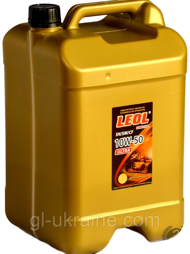 ЛЕОЛ ULTRA 10W-50, Моторное масло 10 л