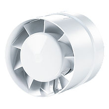 Вентилятор осевой канальный Вентс 100 ВКО Л, подшипник, приточно-вытяжной, мощность 14Вт, объем 105м3/ч, 220В, гарантия 5лет
