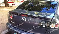 Спойлер для Mazda 3 BK (2002-2009) седан, Мазда БК