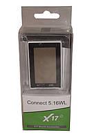 Компьютер X17 Connect 5.16WL, 16 функций, беспроводной, серебр.-черн.