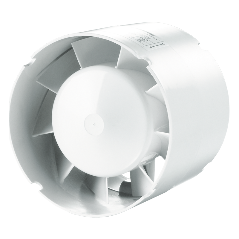 Вентилятор осевой канальный Вентс 150 ВКО1 12, приточно-вытяжной, мощность 24Вт, объем 272м3/ч, 12В, гарантия 5лет