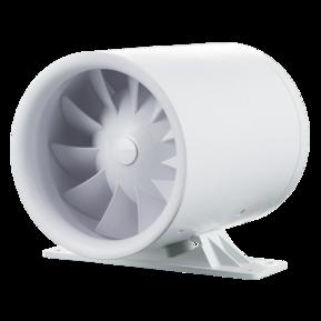 Вентилятор осевой канальный Вентс Квайтлайн-к 125, приточно-вытяжной, мощность 13Вт, объем 197м3/ч, 220В, гарантия 5лет