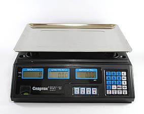 Торговые электронные весы Domotec до 50 кг Спартак hubCPRc82261, КОД: 225907