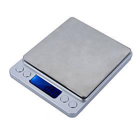 Ювелирные электронные весы с 2 чашами 0.01-500 г hubRGEl64868, КОД: 225908