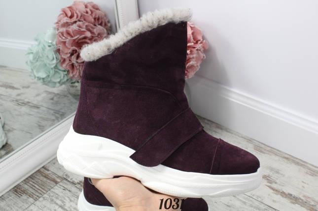 Ботиночки замшевые, фото 2