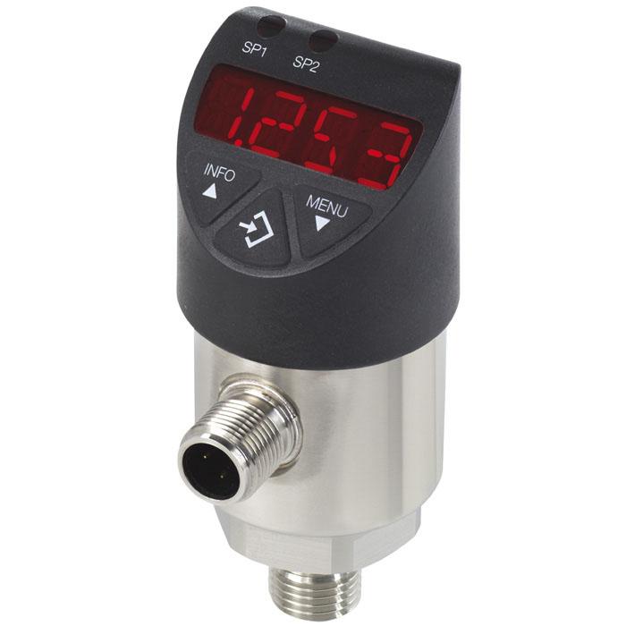 Реле тиску WIKA PSD-4 0...10бар, 0.5% від діап., DC 15...35В, G1/4 A, -20...+85С, 2 контакта(PNP/NPN).