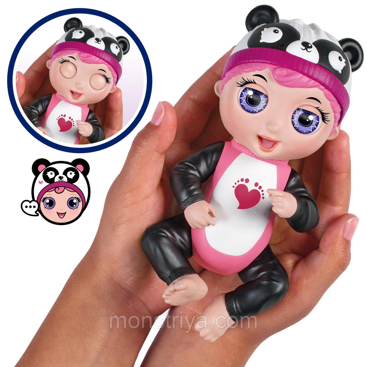 Интерактивная кукла-пупс Тини Тойс Панда/ Tiny Toes Giggling Gabby Panda