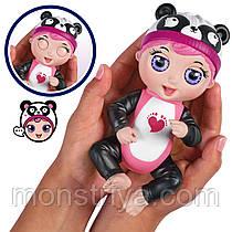 Интерактивная кукла-пупс Тини Тойс Панда/Tiny Toes Giggling Gabby Panda
