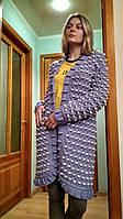 Кардиган женский РУЧНОЙ РАБОТЫ. Пальто, кардиган оверсайз, oversize