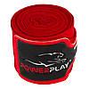 Бинти для боксу PowerPlay 3046 Червоні (4м), фото 6