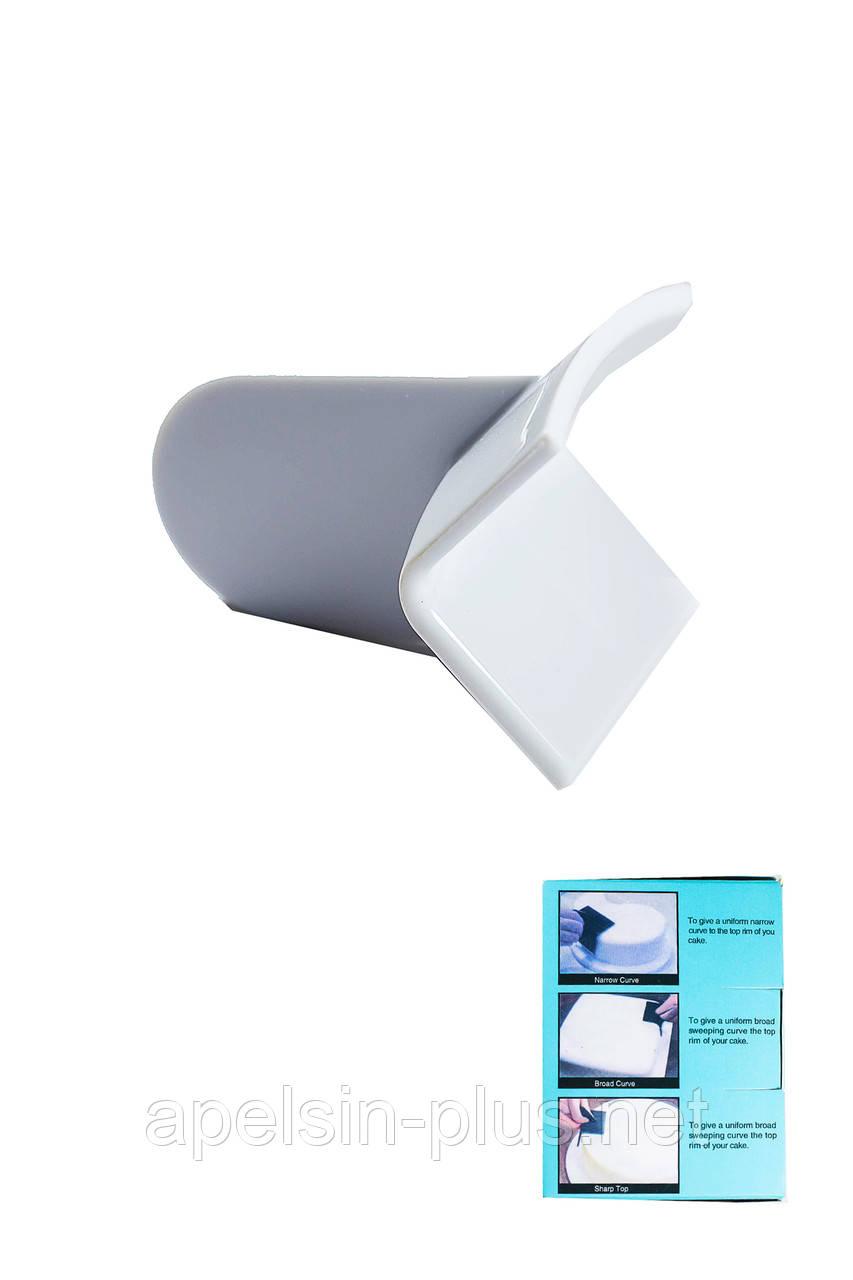 Кондитерский утюжок Внутренний угол пластик