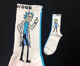 Носки Driftwood - Рик и Морти (белые) 36-39 , фото 2