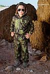 Детские камуфляжные комбинезоны