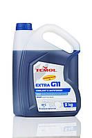 Антифриз синий концентрат канистра 5кг TEMOL antifreeze concentrate G11 blue Концентрат антифризу синій Ж11