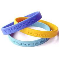 Резиновые браслеты для промо акций, фото 1