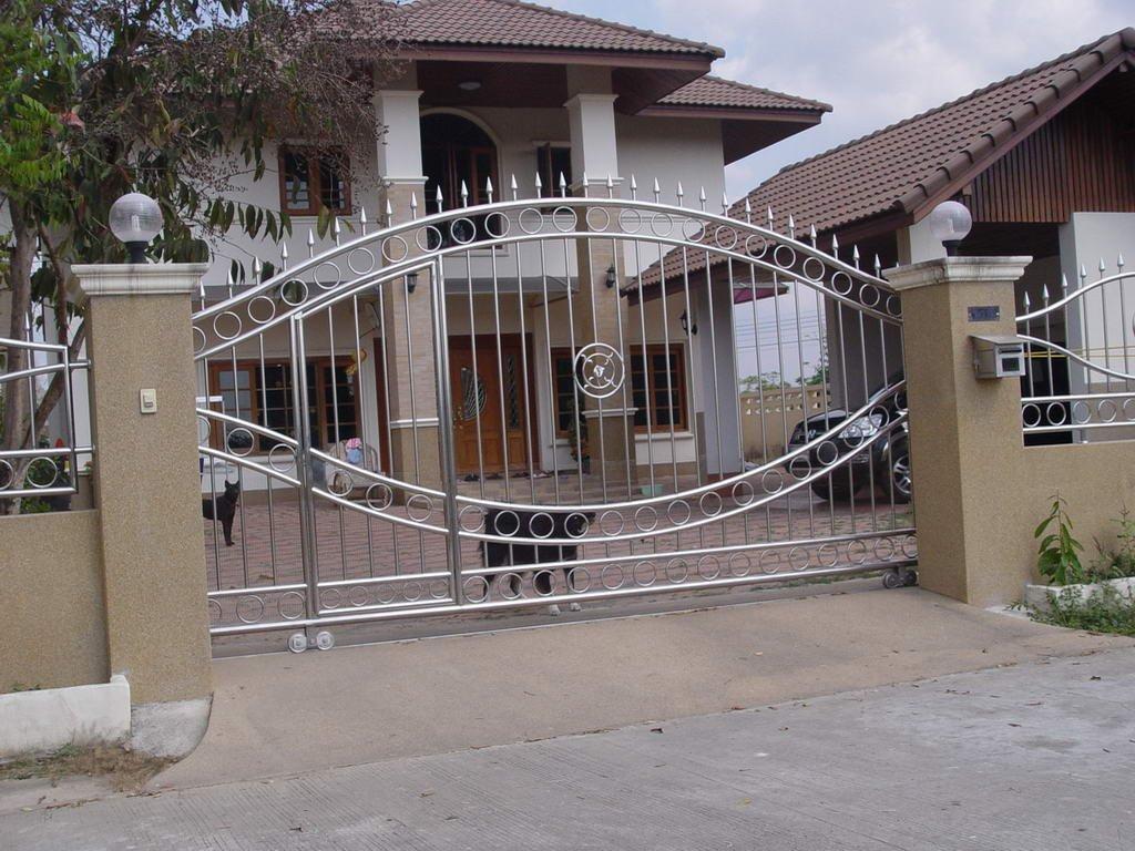 Нержавеющие ворота