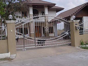 Нержавеющие ворота, фото 2