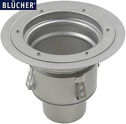 Промисловий трап Blucher 766.602.110, нержавіюча сталь, горизонтальний вихід DN110