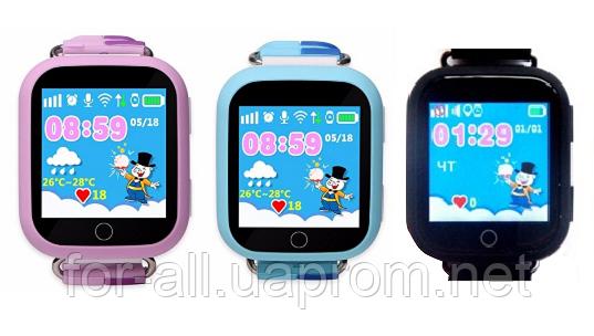 Фото подарка на новый 2019 год свиньи-Smart Baby Watch Q750 (Q100S)