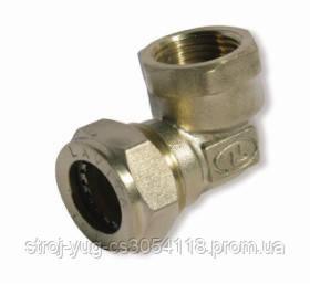 Угольник усиленный никелированный DISPIPE (BL15NHP) 15х1/2 (F)