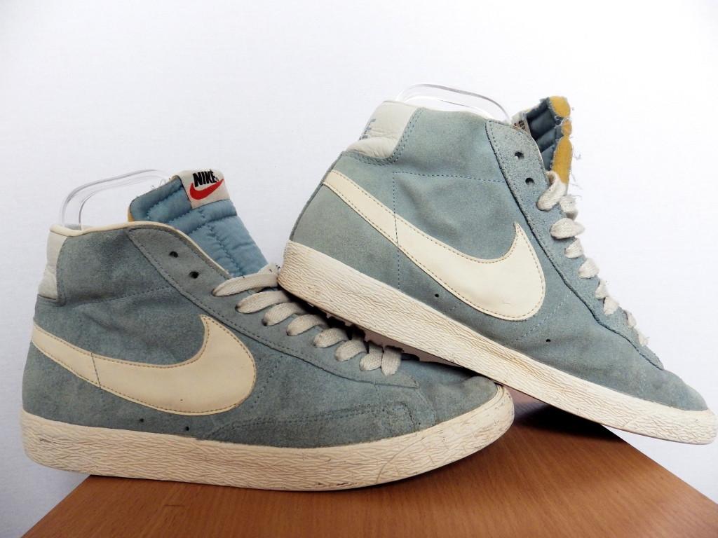 Мужские высокие кроссовки Nike Blazer 100% Оригинал р-р 43 (28 см)  (б/у,сток) original найк