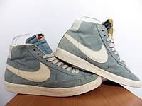 Мужские высокие кроссовки Nike Blazer 100% Оригинал р-р 43 (28 см)  (б/у,сток) original найк, фото 1