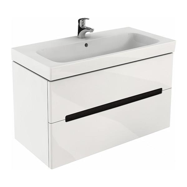 Kolo MODO шкафчик под умывальник 99*55*47,9 см белый глянец (пол.)
