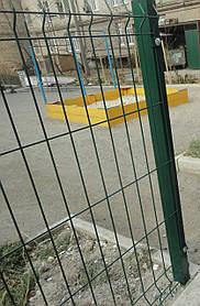 Стовпи для панельного паркану з сітки 1250, 40*40*1,5