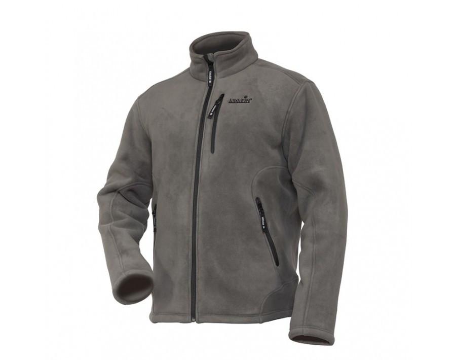 Куртка флисовая штучный мех  Norfin North(серая ,3 слоя) L