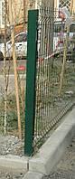Столбы для панельного забора из сетки 1500, 40*40*1,5