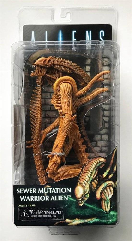 Чужой - Фигурка Подвижного чужого из канализации (Alien Sewer Mutation) 18 см